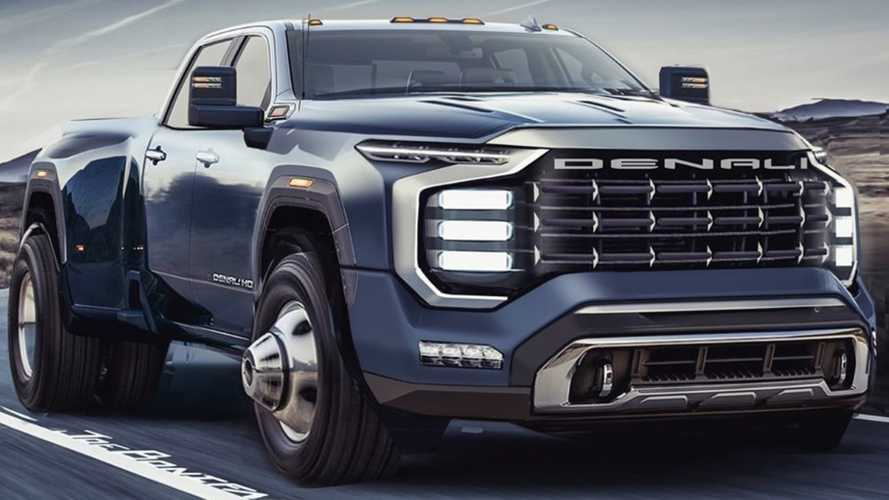 Bow Down To This GM Designer's Take On A Future Sierra Denali HD Truck