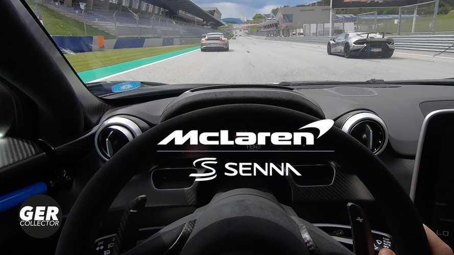 Videó: Így falja fel a McLaren Senna a mezőnyt a Red Bull Ringen