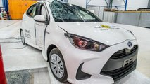 Toyota Yaris au crash-test Euro NCAP