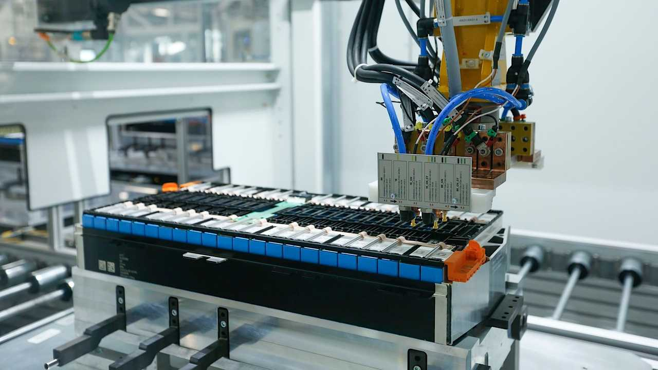BMW Brilliance Automotive battery production in Tiexi, China