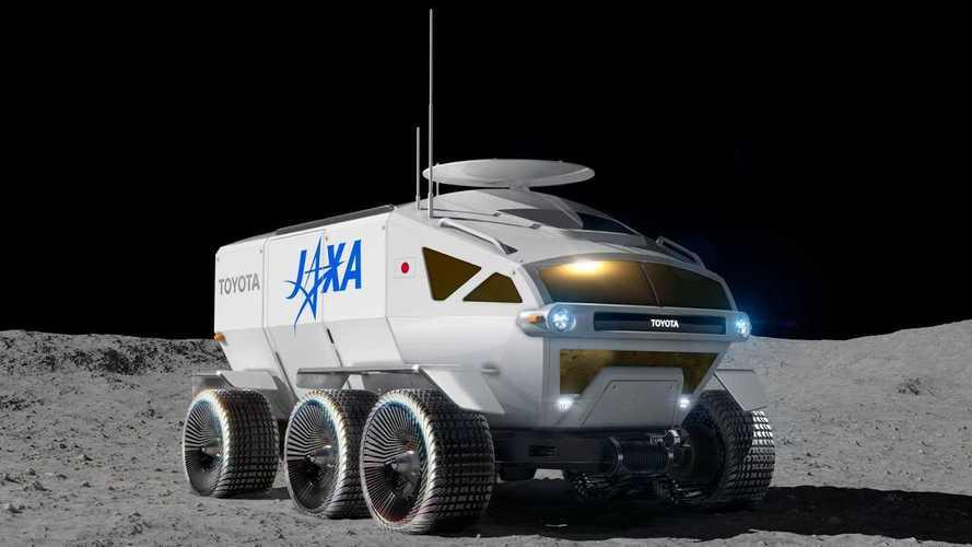 """Toyota, il """"fuoristrada spaziale"""" si chiama Lunar Cruiser"""