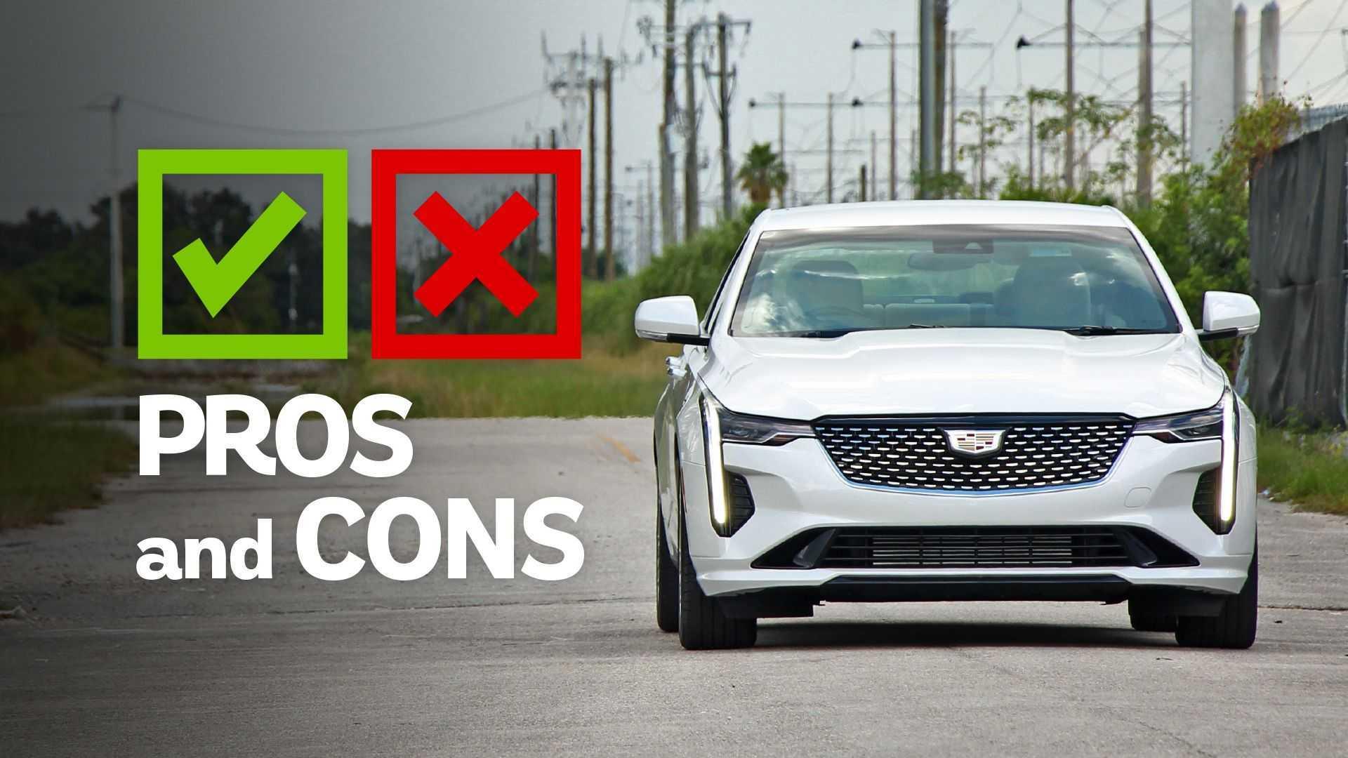 2020 Cadillac CT4 Premium: Pros And Cons