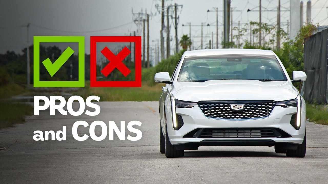 Cadillac CT4 Premium Pros And Cons