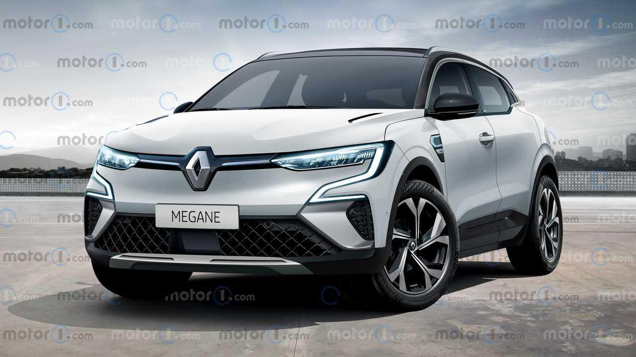 Renault Mégane Rendering Motor1.com