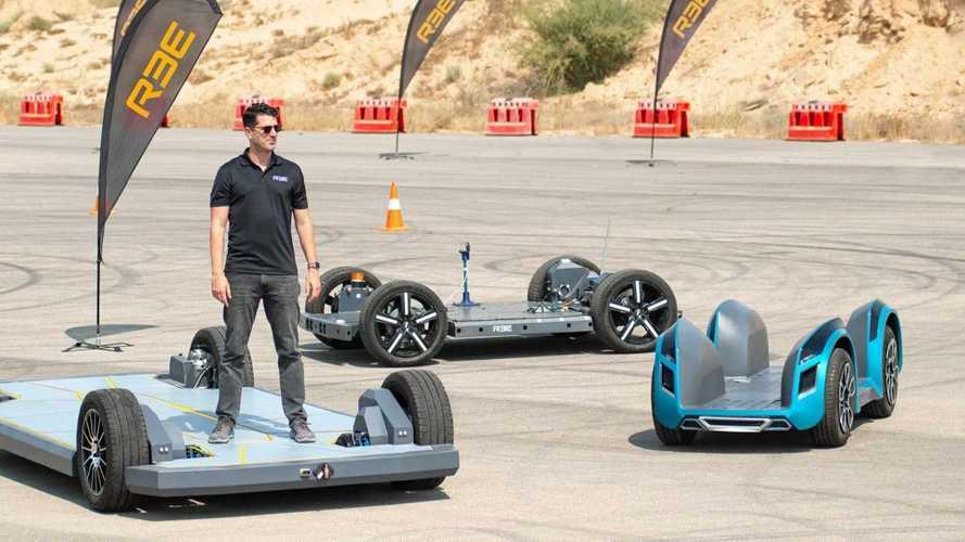 REE Automotive: Elektro-Plattformen wedeln autonom über die Rennstrecke