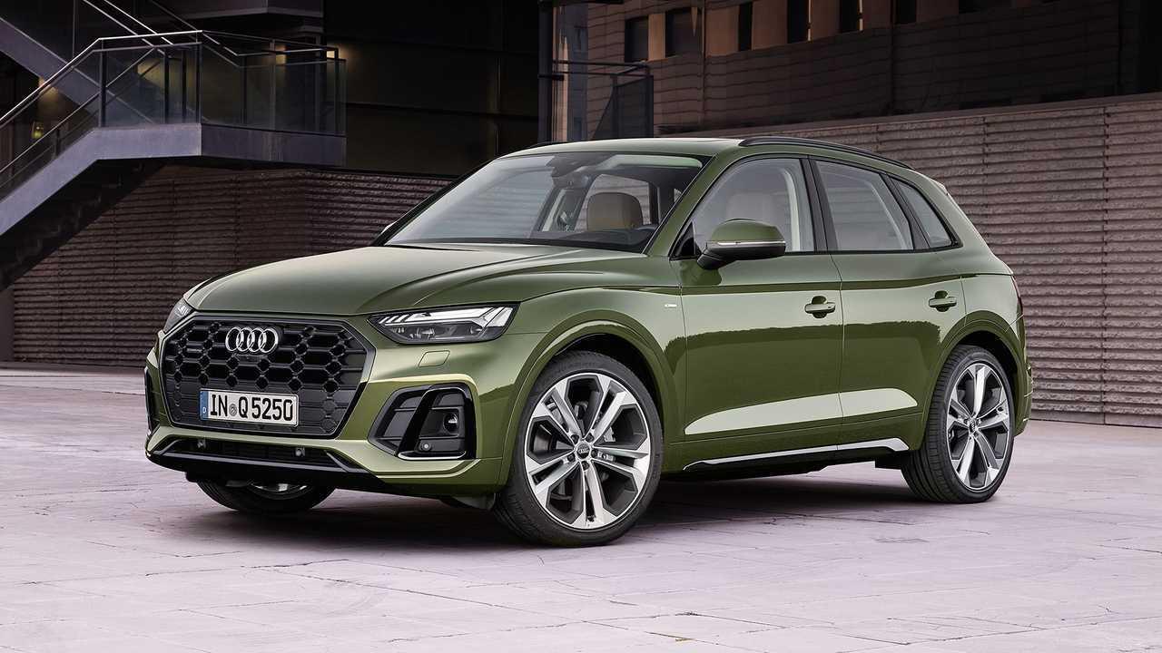 Audi Q5 restyling (2020)