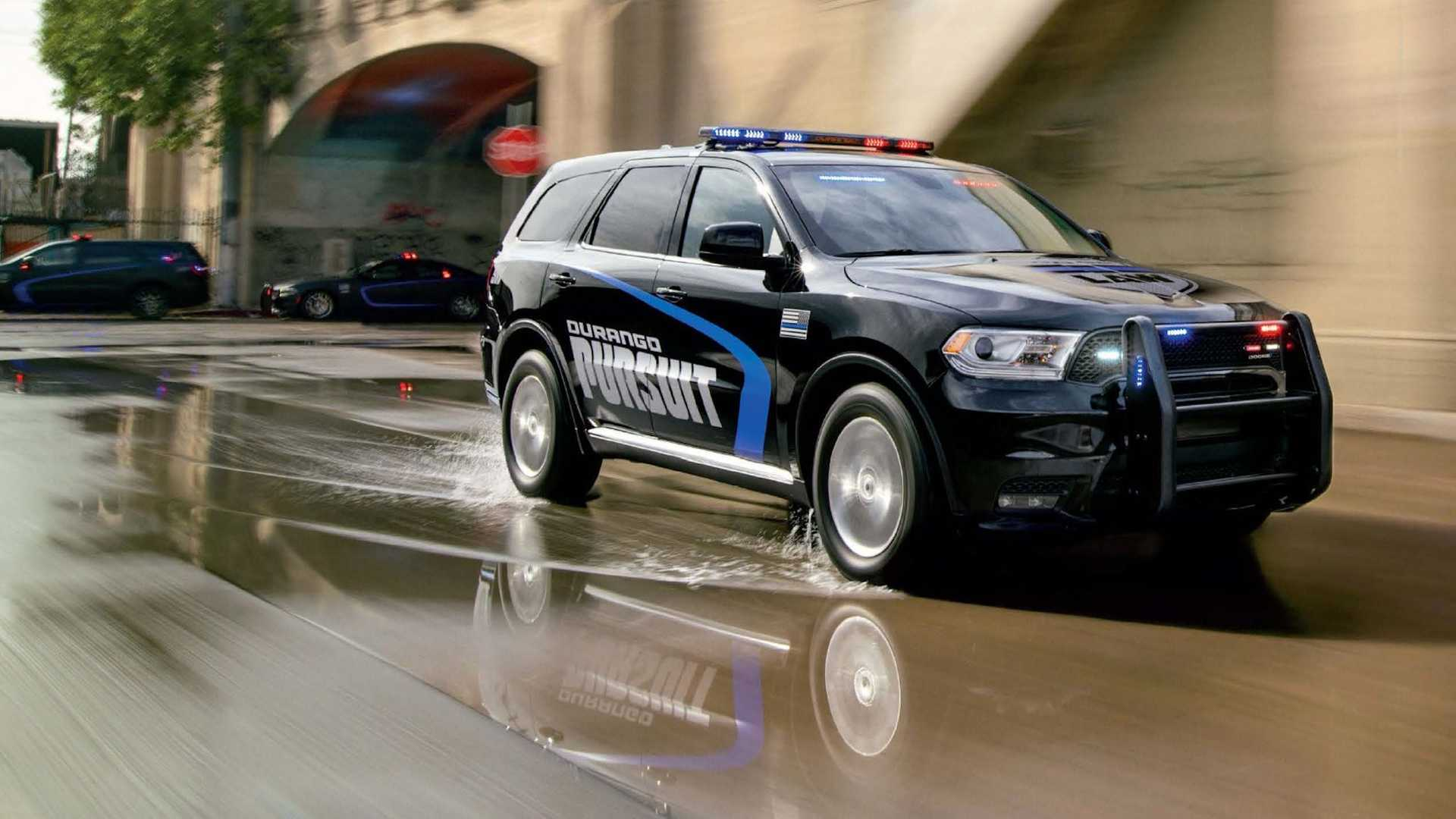2021 Dodge Charger Durango Police Vehicles Receive Small Upgrades