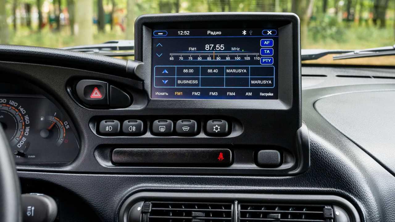 Lada Niva Off-road (2020) – мультимедиа