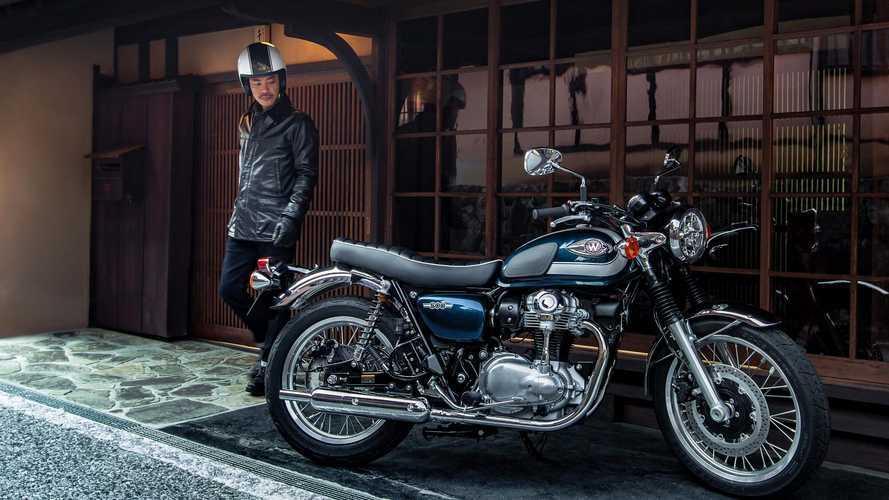 Kawasaki, nuovi colori per Z125, Ninja 125, W800 e Z900RS