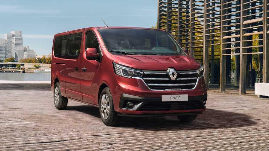 Renault Trafic Combi und Spaceclass (2021) bekommen Facelift