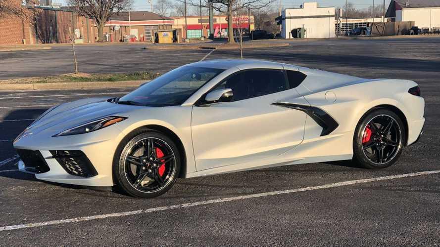 2021 Corvette C8 Looks Sharp In New Silver Flare Metallic Paint