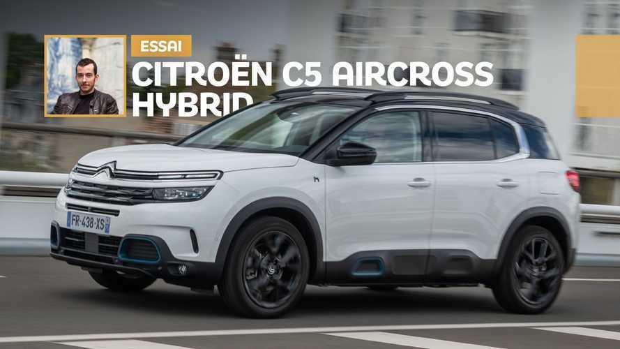 Essai Citroën C5 Aircross Hybrid (2020) - La force tranquille