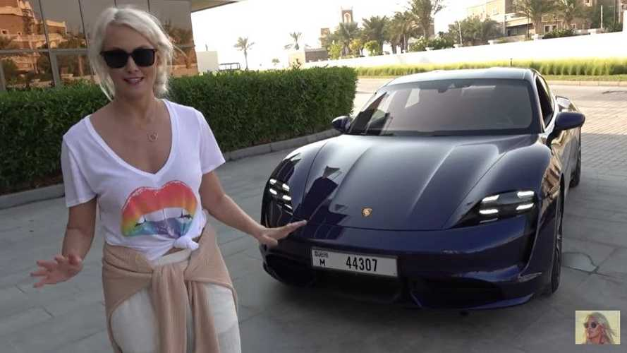 Supercar Blondie Takes On The Porsche Taycan Turbo
