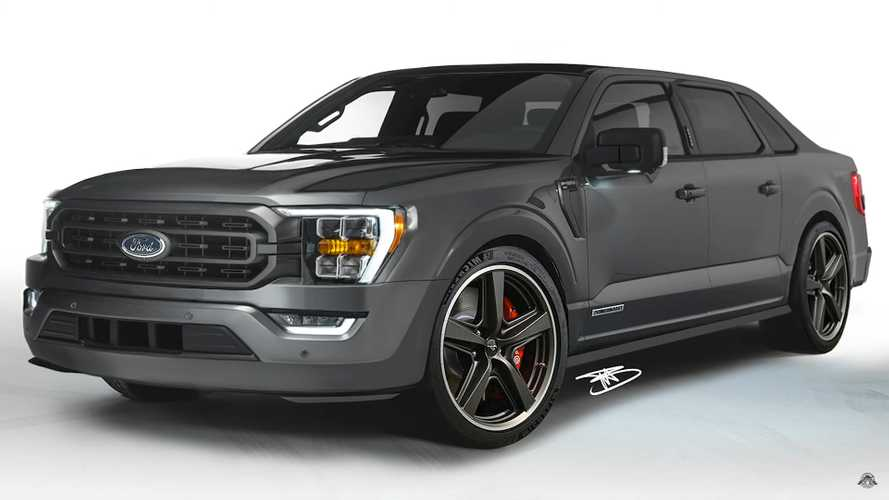Ford F-150 Gets A Weird Sedan Makeover In Unofficial Rendering