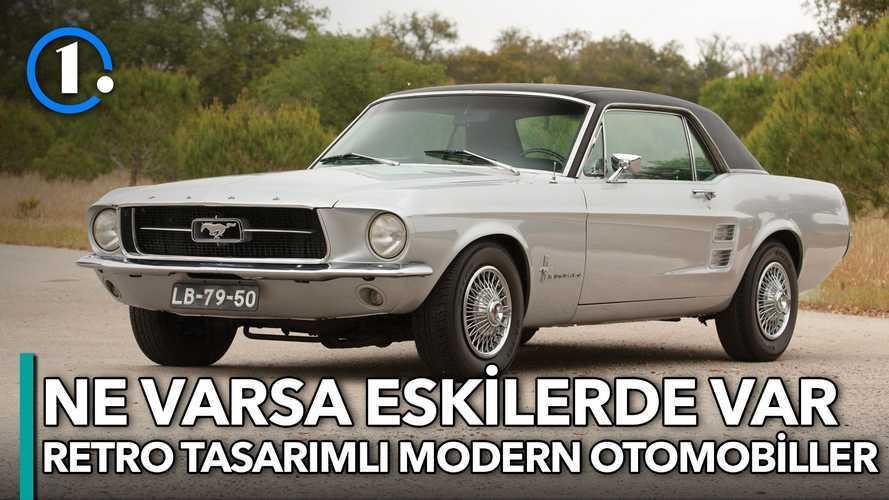 Retro tasarımlı modern otomobiller | Bilgin Olsun