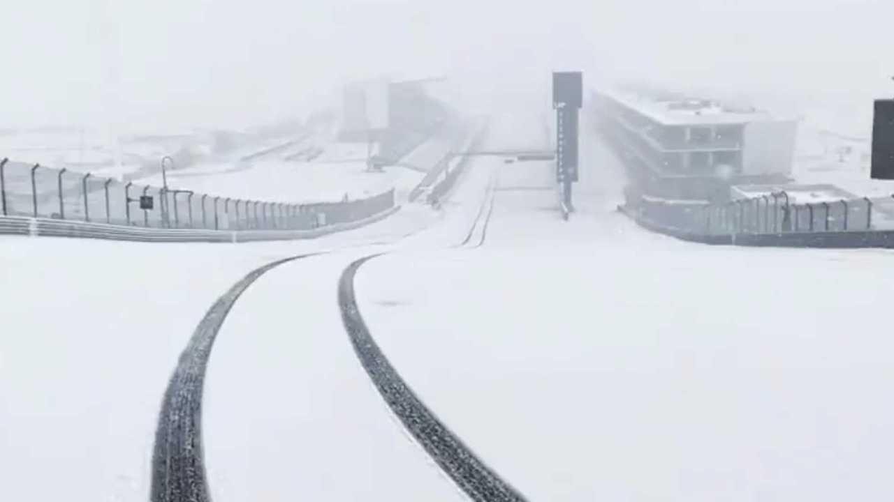 Circuit Of The Americas Snow