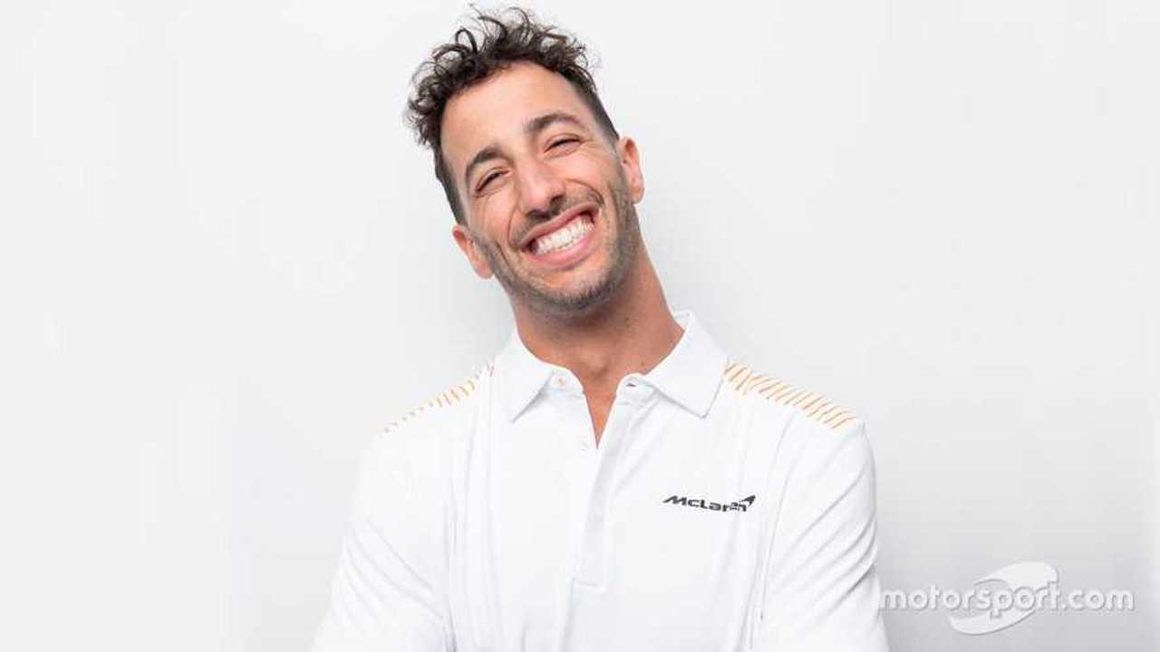 Daniel Ricciardo joins McLaren F1 team