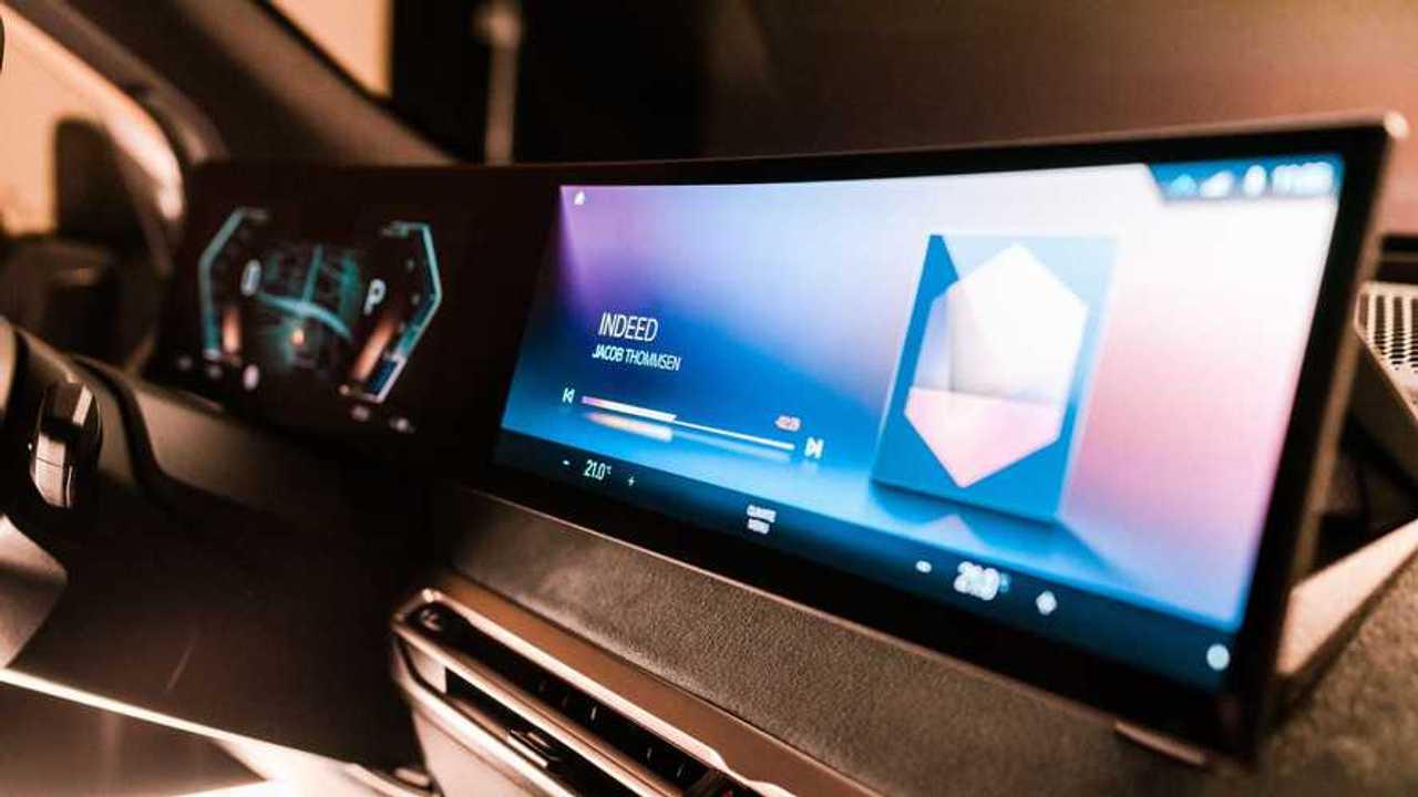 Ecrans iDrive BMW iX nouvelle génération