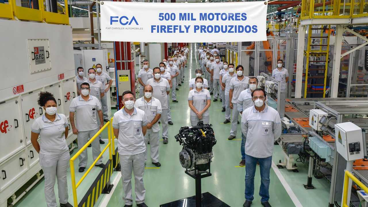 FCA - 500 mil motores Firefly