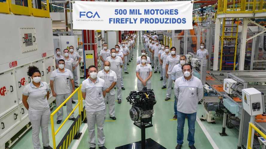 Fiat alcança 500 mil motores 1.0 e 1.3 Firefly produzidos no Brasil