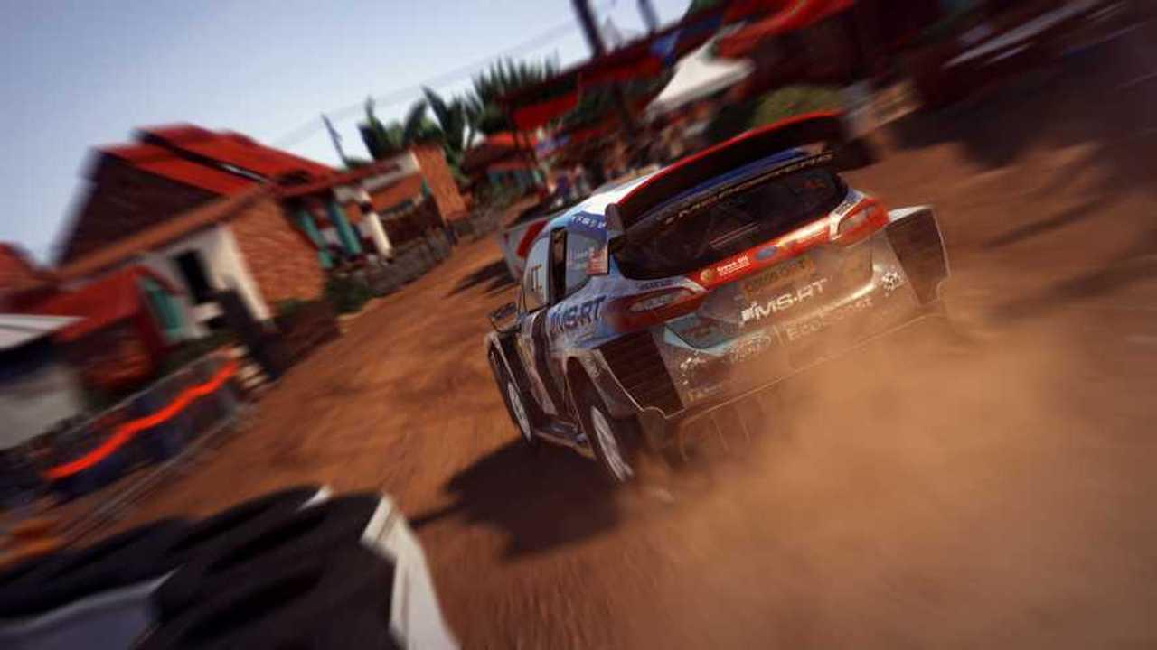 WRC 9 Rally Screenshot