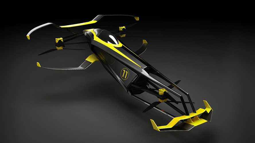 CarCopter flying race car concept aims to revolutionise motorsport