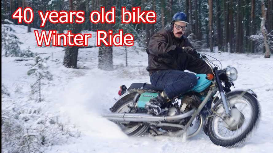 Watch Uncle George Whip An Izh Planeta Around In The Snow