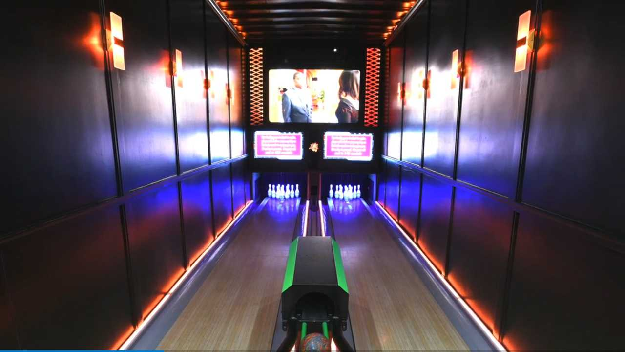 Bowling Alley Trailer