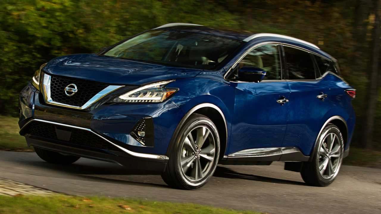2021 Nissan Murano Front Blue