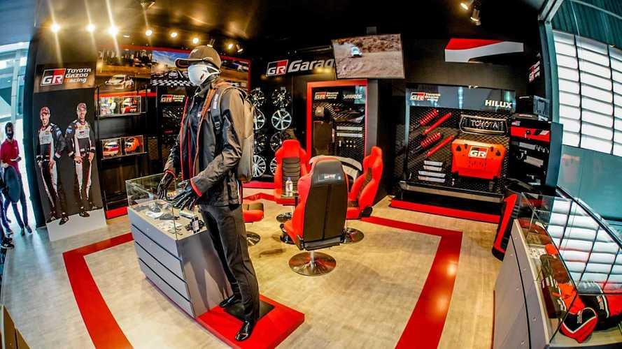Toyota GR Garage inaugura 1ª loja no Brasil para fãs de automobilismo