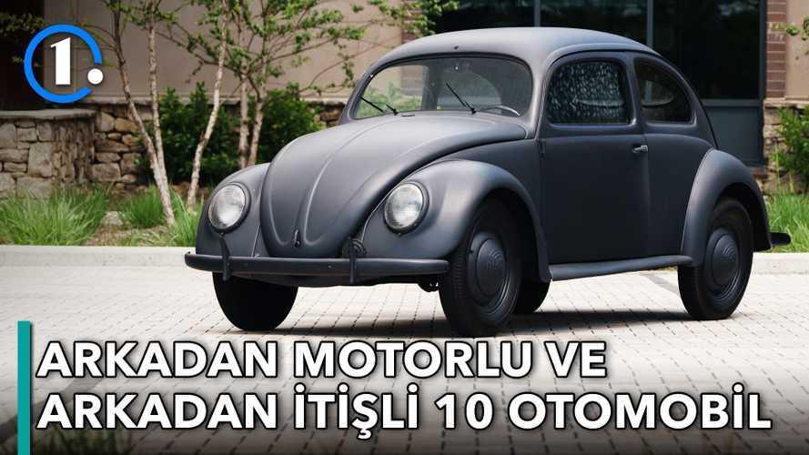 Bilgin Olsun | Arkadan motor-arkadan itiş düzenine sahip 10 otomobil