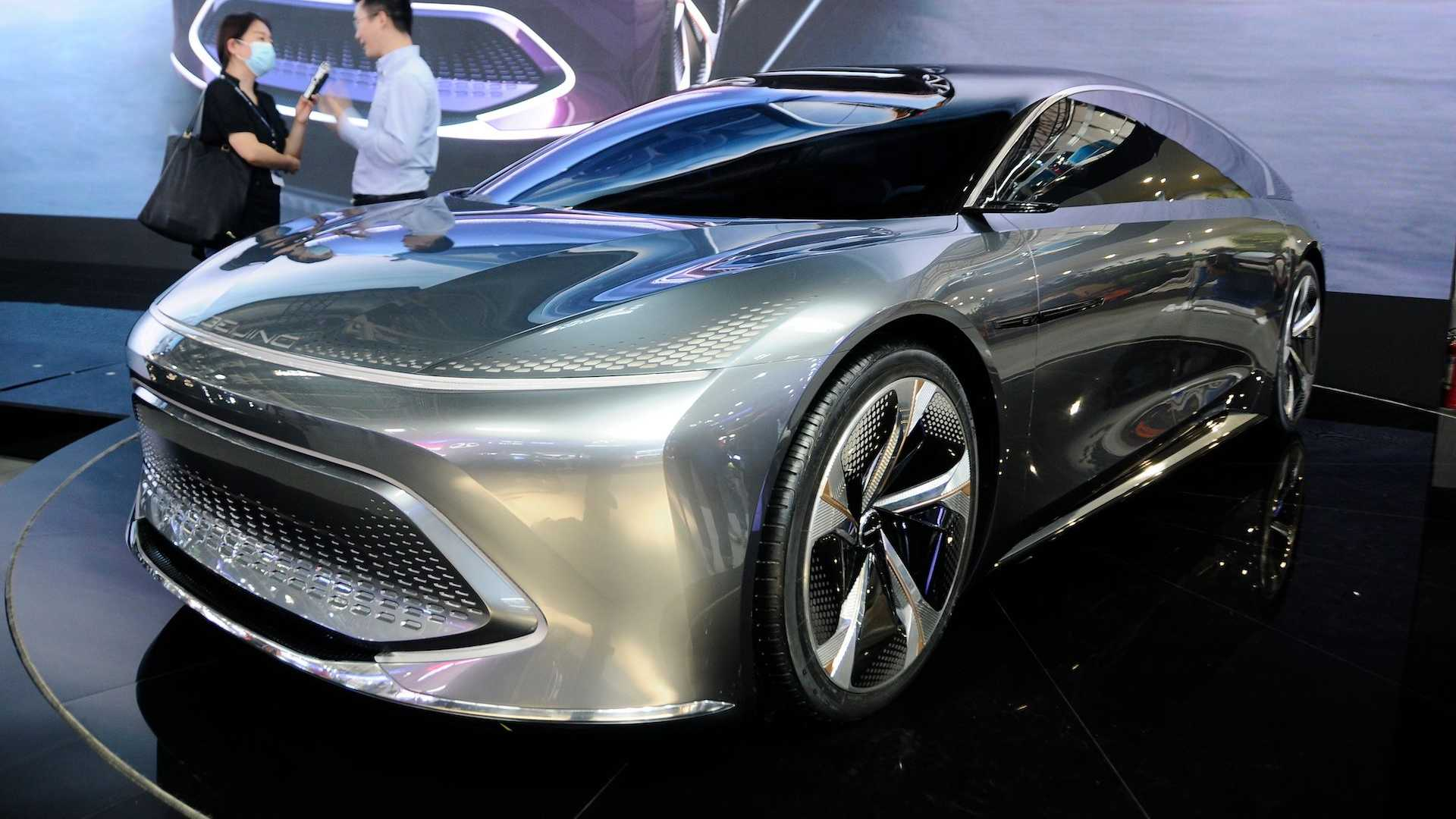 Beijing Radiance Concept Aims At Tesla Model S When It Hits Production