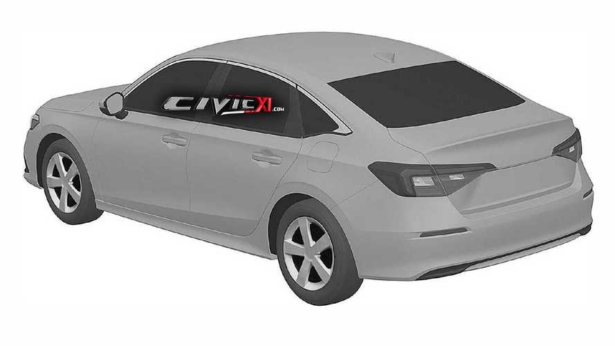 2022 Honda Civic Saloon gets early reveal via trademark office
