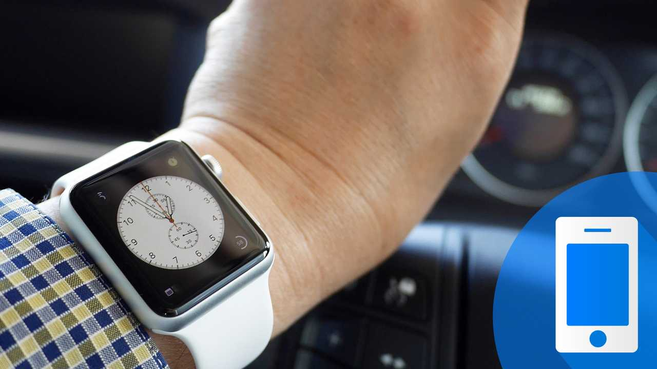 Apple Watch in auto