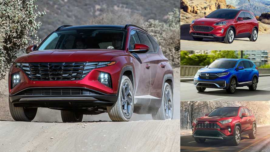 2022 Hyundai Tucson Vs The Competition