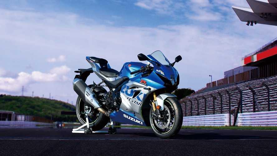 Suzuki GSX-R1000R Anniversary, vestida de MotoGP