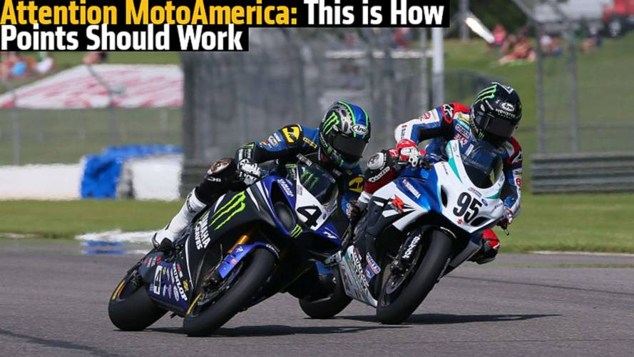 Attention MotoAmerica: This is How Points Should be Awarded