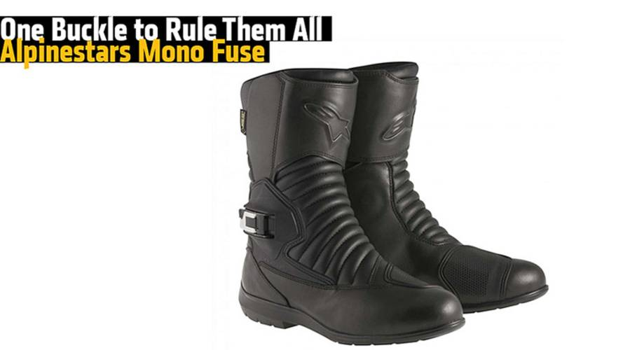 One Buckle to Rule Them All - Alpinestars Mono Fuse Gore-Tex Boots