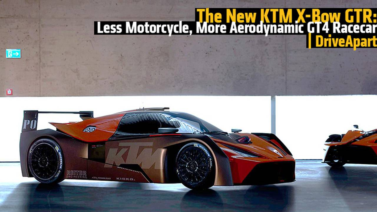 The New KTM X-Bow GTR: Less Motorcycle, More Aerodynamic GT4 Racecar