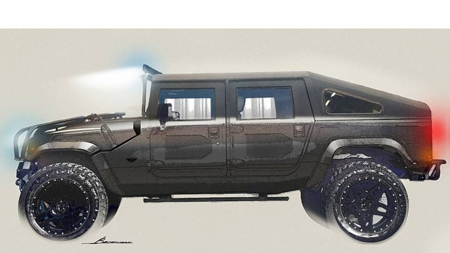 Mil-Spec Releases Renderings Of Its Newest Hummer H1 Revival