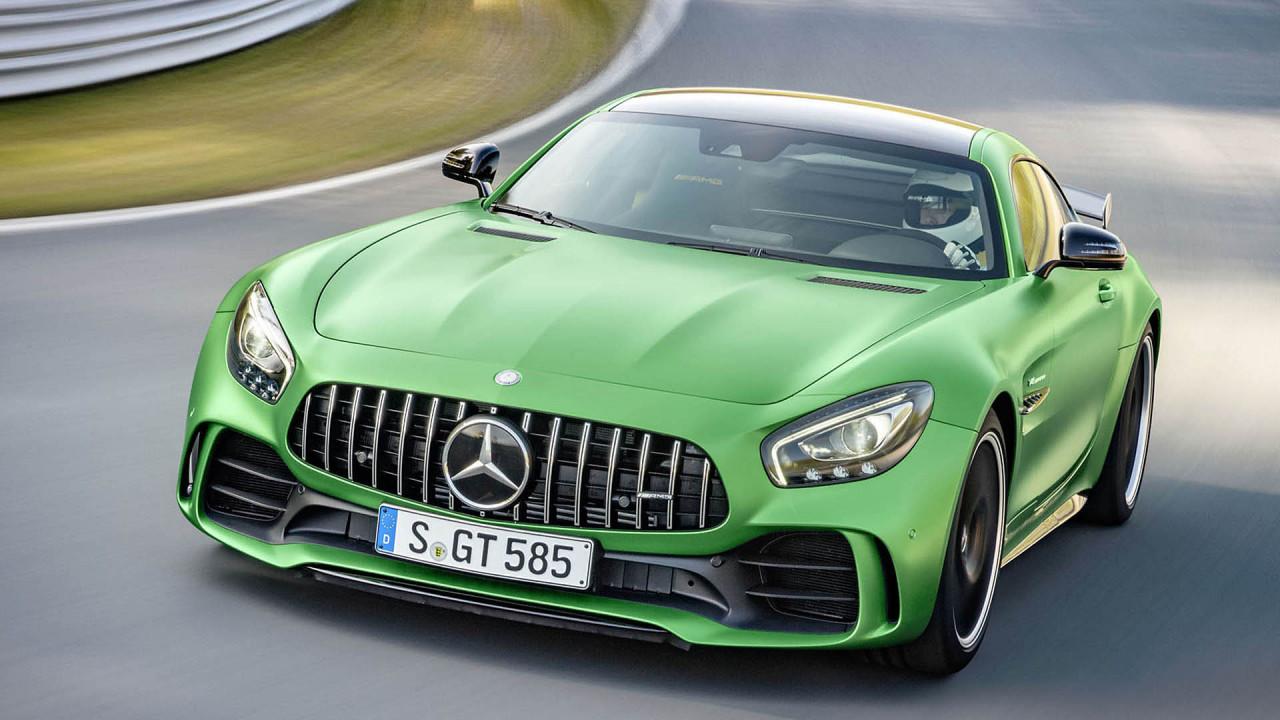 Platz 8: Mercedes-AMG GT R (7:10.92)