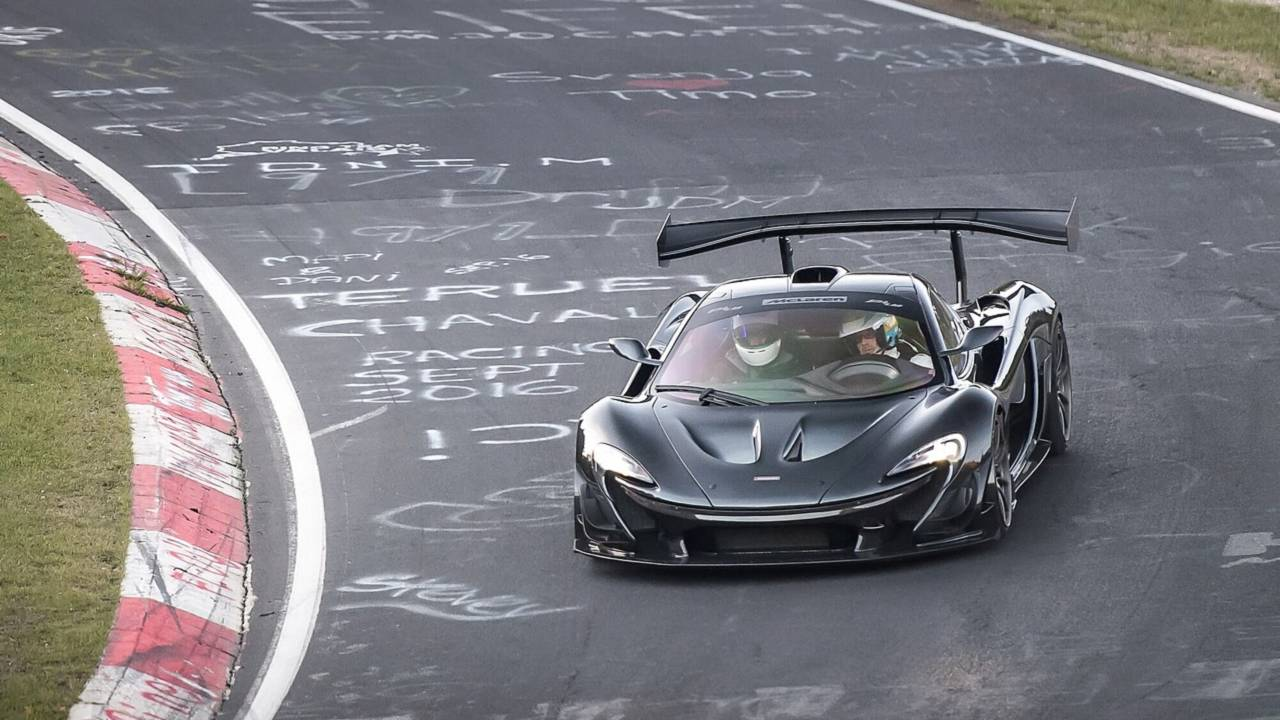 McLaren P1 GTR LM (6:43.02)