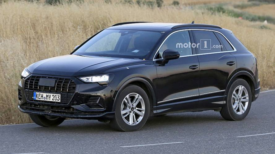 2019 audi q3 spy photo photos. Black Bedroom Furniture Sets. Home Design Ideas
