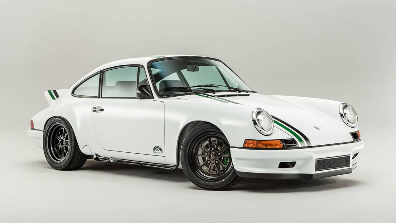 Paul Stephens Porsche 911 Clubsport Le Mans Classic