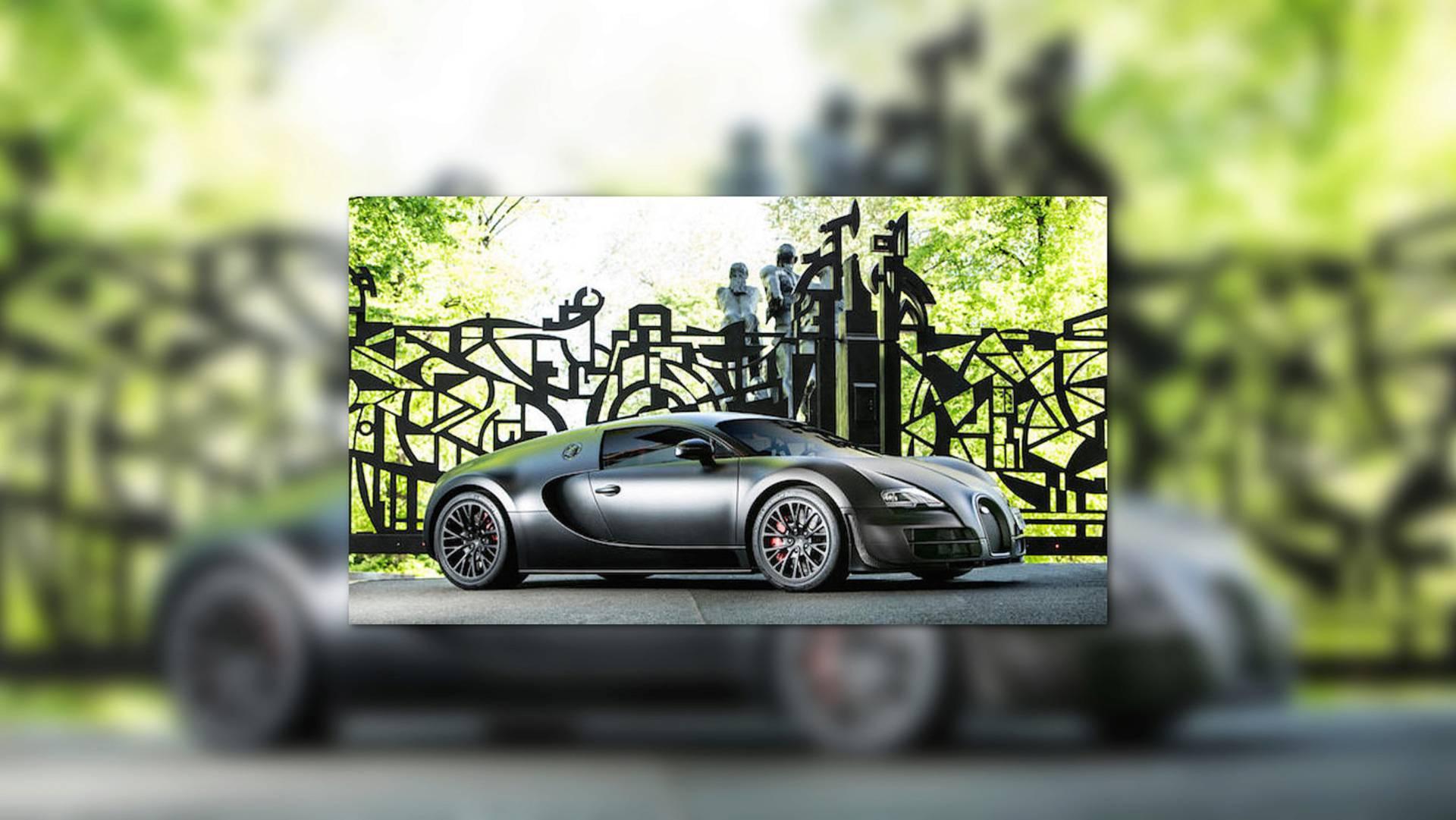 Last Bugatti Veyron Super Sport Ever Built Is Heading To Auction W16 Engine Diagram