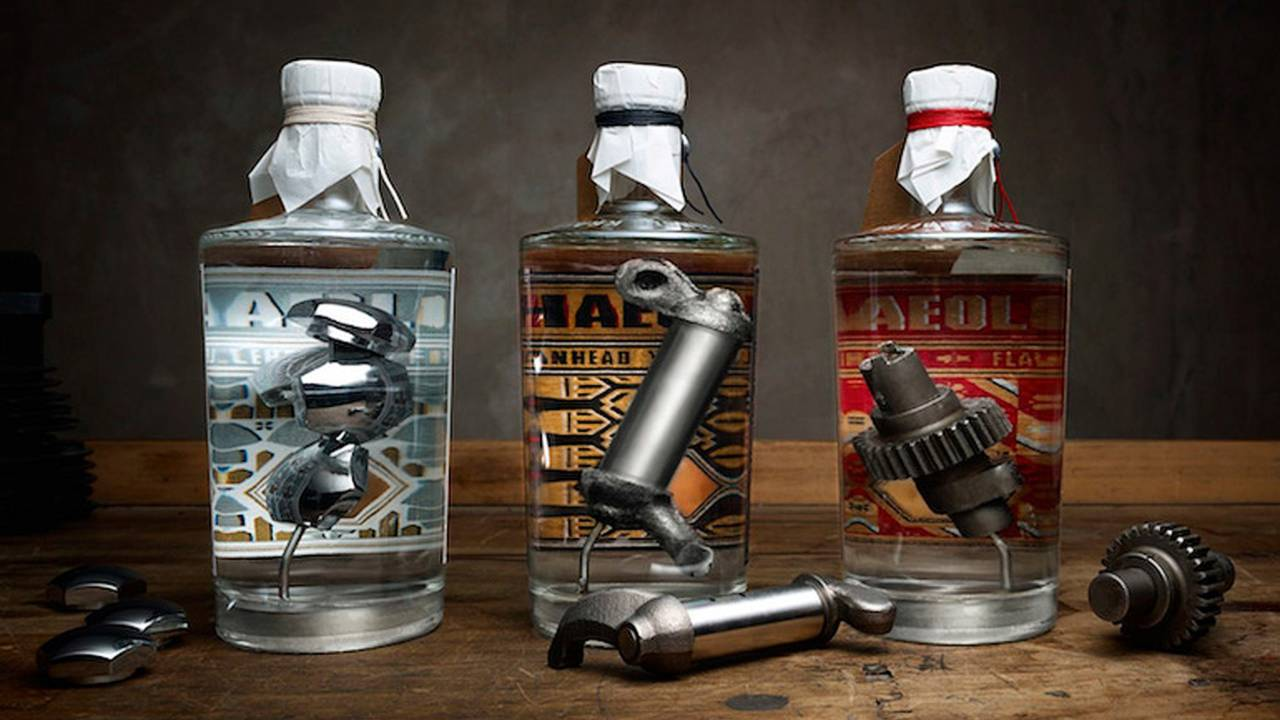Taking Hipster to 11: Gin Made with Harley-Davidson Parts