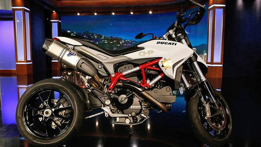 Ducati Auctions CHiPs Hypermotard for Charity