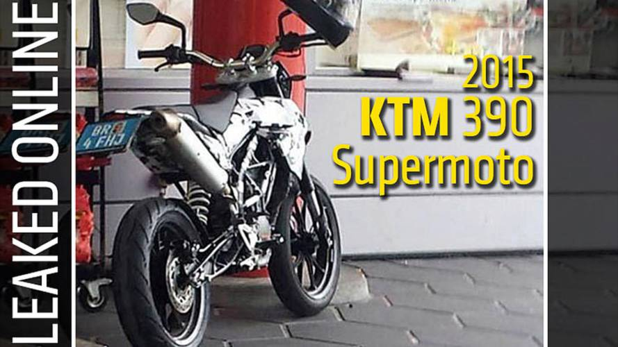 Leaked Online: 2015 KTM 390 Supermoto