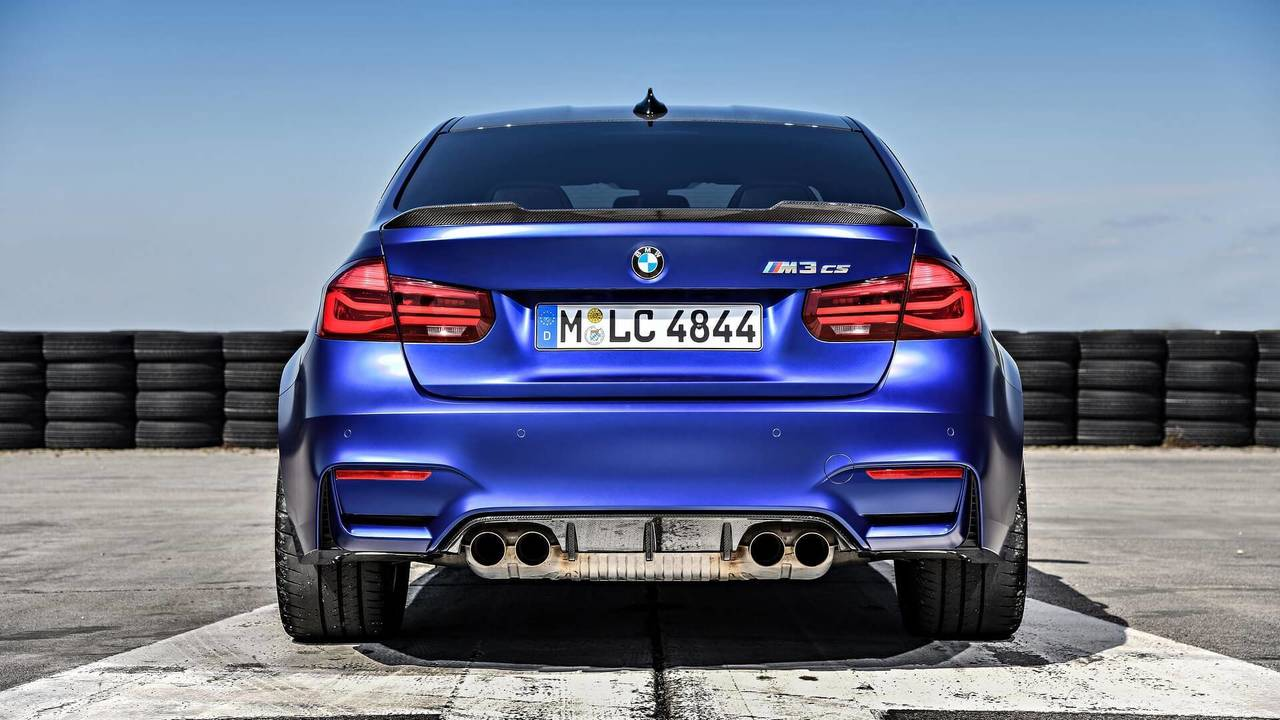BMW M3 CS Introduced With More Power, Less Weight