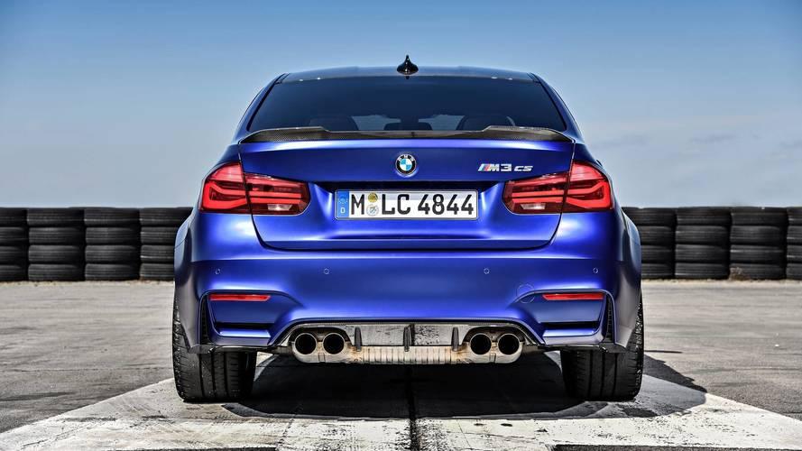 BMW, M3 CS'in yeni fotoğraflarını yayınladı